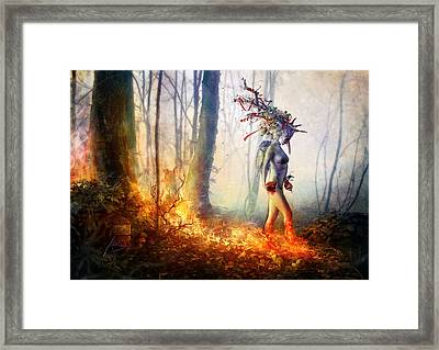 Trust In Me Framed Print by Mario Sanchez Nevado