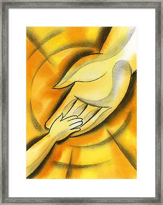 Trust Framed Print by Leon Zernitsky