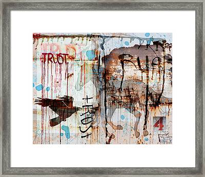 Trust Me Framed Print by Judy Wood