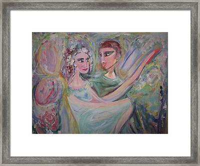 Trust Me On This Framed Print by Judith Desrosiers