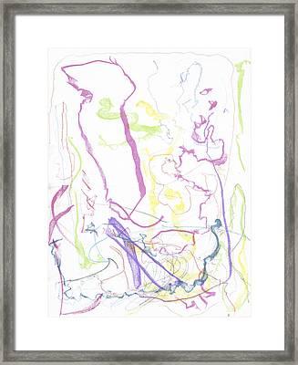 Trust On Canvas Framed Print by Joshua Burke