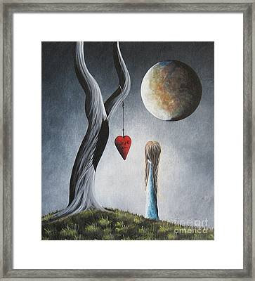 Trust Your Instincts By Shawna Erback Framed Print by Shawna Erback