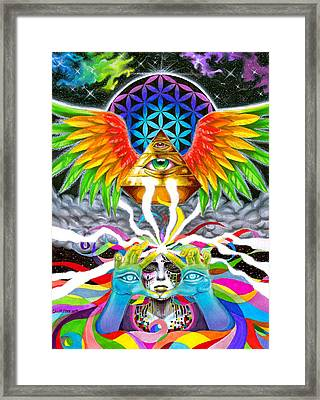 Truth Framed Print by Callie Fink