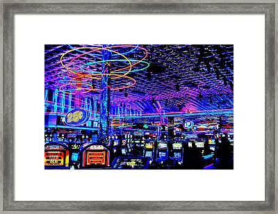 Try Your Luck Framed Print by Benjamin Yeager