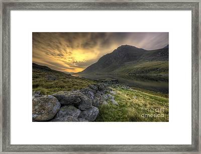 Tryfan By Morning  Framed Print by Darren Wilkes