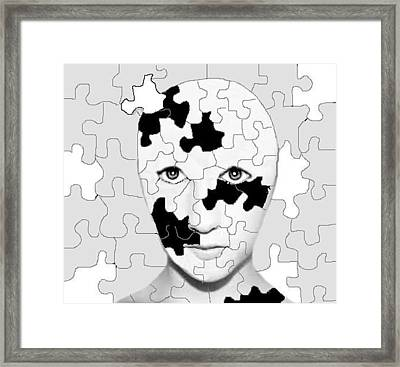 Tryin To Keep It Together Framed Print by Robert Stagemyer