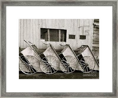 Ts Framed Print by Paul Foutz