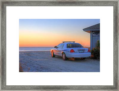 Tsunami Watch Framed Print by JC Findley