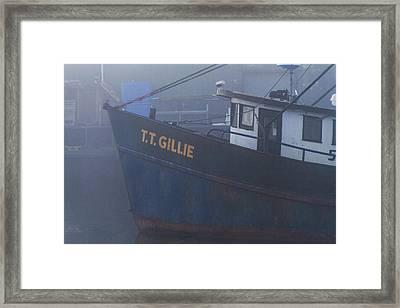 T. T.  Gillie Framed Print