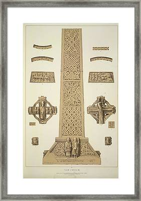 Tuam Cross Framed Print