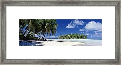 Tuamotu Islands French Polynesia Framed Print