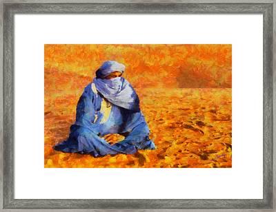 Tuareg 2 L.e. Framed Print by George Rossidis