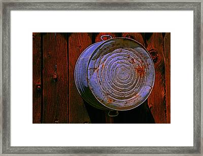 Bulls Eye Framed Print by Mike Flynn