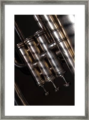 Framed Print featuring the photograph Tuba No. 3 by Chuck De La Rosa