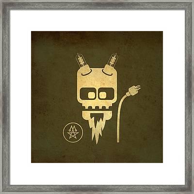 Tube Devil Framed Print