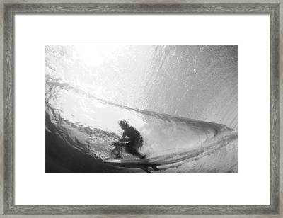 Tube Time Framed Print