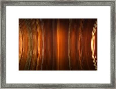 Tube Time Framed Print