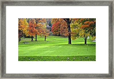 Tucked Pin Framed Print by Frozen in Time Fine Art Photography