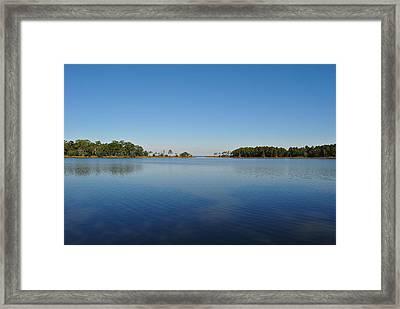 Tucker Bayou Framed Print by Michele Kaiser