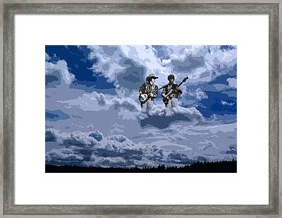 Tucker Boys In The Clouds 2 Framed Print