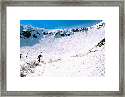 Tuckerman Ravine Framed Print