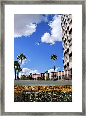 Tucson Arizona Framed Print