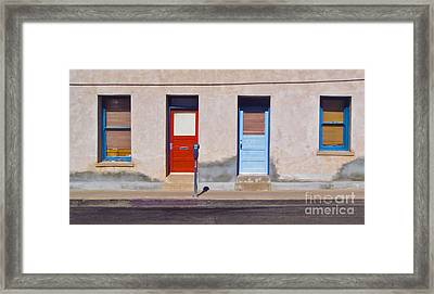 Tucson Arizona Doors Framed Print by Gregory Dyer