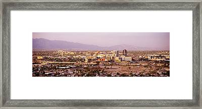 Tucson Arizona Usa Framed Print