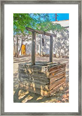 Tucson Arizona Well Framed Print by Gregory Dyer