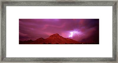 Tucson Az Usa Framed Print by Panoramic Images