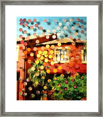 Tucsoncenter Ss2blue Framed Print by Irmari Nacht