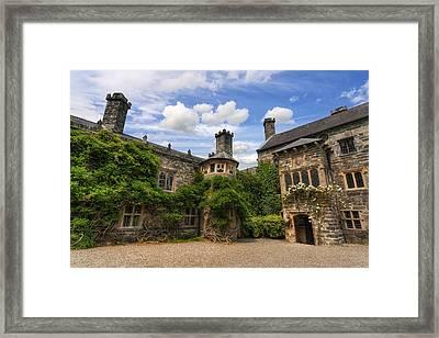 Tudor Castle Framed Print by Ian Mitchell