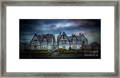 Tudor Gothic Decay Framed Print by Adrian Evans
