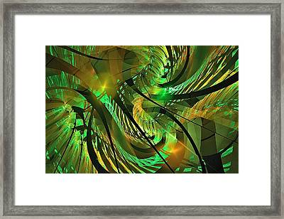Tuesday Afternoon Arboretum Framed Print by Doug Morgan