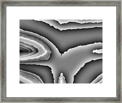 Framed Print featuring the digital art Tuesday Dream by Jeff Iverson