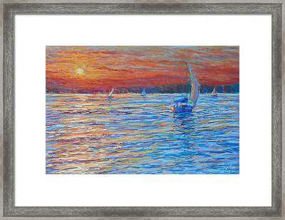 Tuesday's End Framed Print by Michael Camp