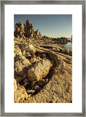 Tufa Rock Framed Print