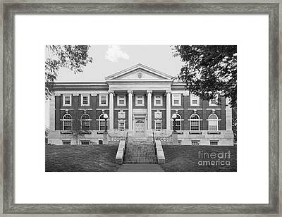 Tufts University Eaton Hall Framed Print by University Icons