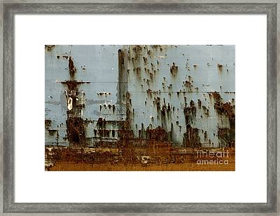 Tug- A Fisherman's Impression Framed Print