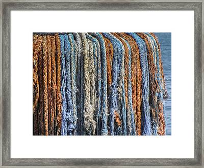 Framed Print featuring the photograph Tug Boat Dreads by Bradley Clay