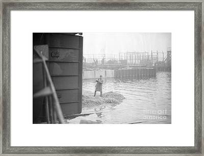 Framed Print featuring the photograph Tug Boat by Steven Macanka