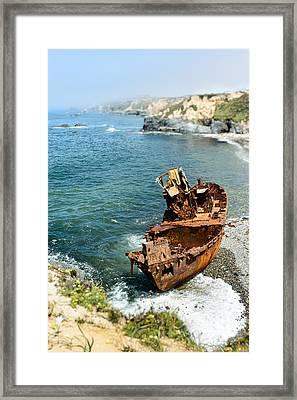 Tugboat Klemens I Framed Print