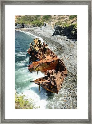 Tugboat Klemens II Framed Print