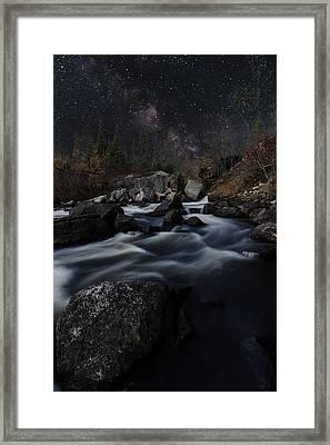 Tulabi Falls Framed Print