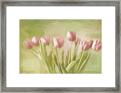 Tulip Bouquet Framed Print