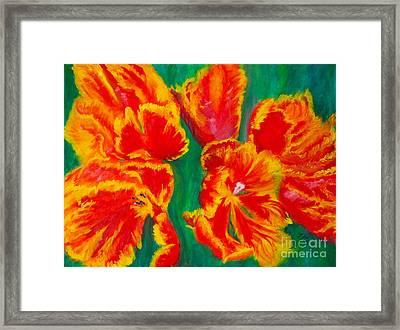 Tulip Days Framed Print