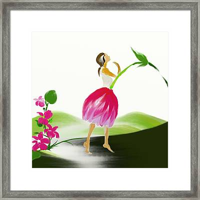 Tulip Framed Print by Len YewHeng