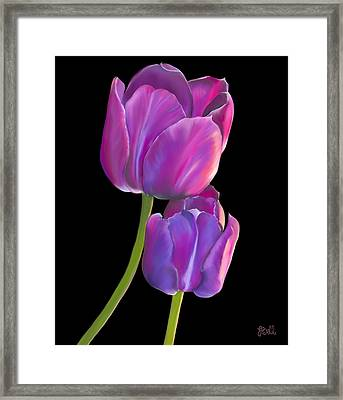 Tulips 2 Framed Print by Laura Bell
