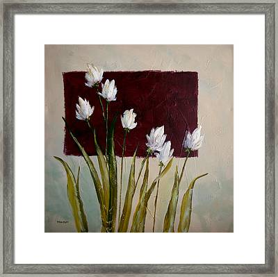Tulips Framed Print by Bob Pennycook