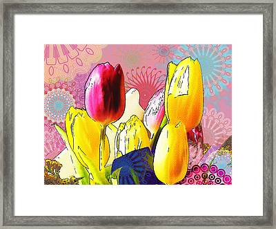 Tulips Framed Print by Christo Christov